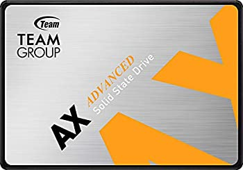 TEAMGROUP AX2 1TB 3D NAND TLC 2.5 Inch SATA III Internal Solid State Drive SSD  Read Speed up to 540 MB/s  Compatible with Laptop & PC Desktop T253A3001T0C101