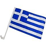 Autofahne Autoflagge Auto Fenster Fahne Flagge GRIECHENLAND
