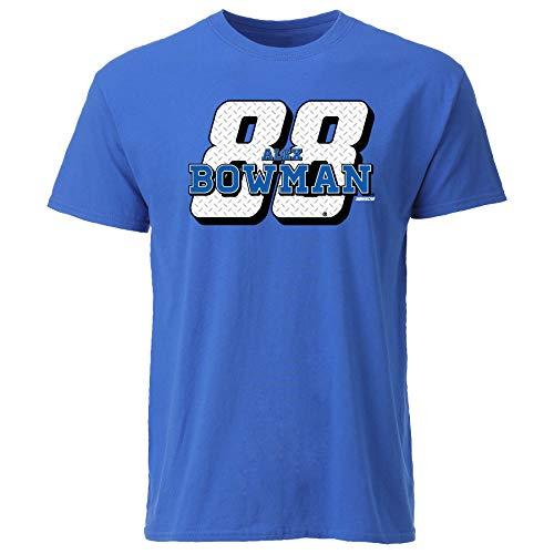 Ouray Sportswear NASCAR Herren Ouray S/S Tee Alex Bowman, Royal, XL
