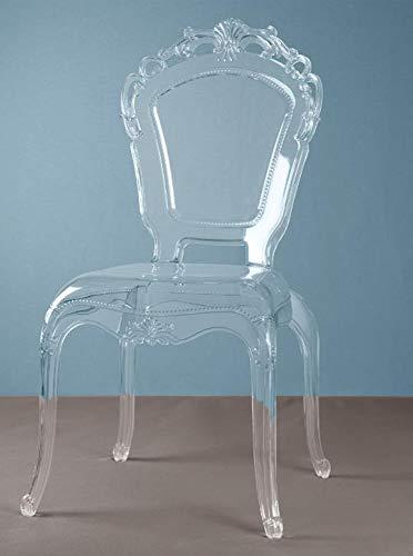 Sedia REGNA in policarbonato trasparente