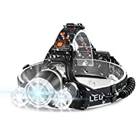 Ikaama Bright 6000 Lumens LED Headlamp