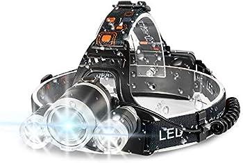 Ikaama Bright 6000 Lumens LED Headlamp