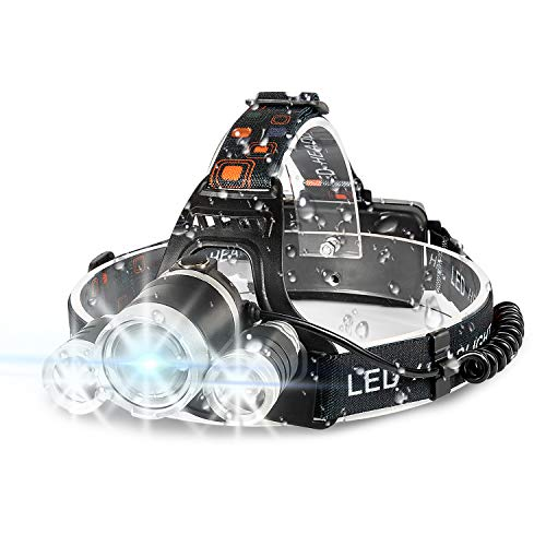 Headlamp Flashlight 6000 High Lumens Brightest Head Lamp,...
