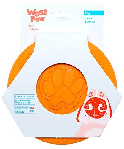 West Paw Zogoflex Zisc Durable Dog Frisbee...