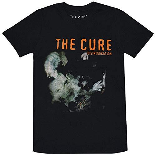 THE CURE キュアー Disintegration Tシャツ ブラック (M)