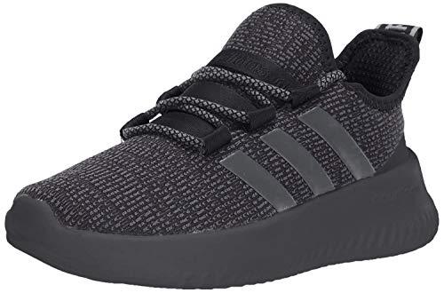 adidas Kids Unisex's Ultimafuture Running Shoe, Black/Grey/Grey, 3.5 M US Big Kid