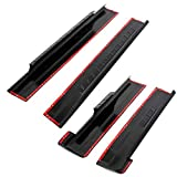 7BLACKSMITHS Extended Cab Rocker Panel Guard Cover Compatible with 1999-2006 Silverado Sierra