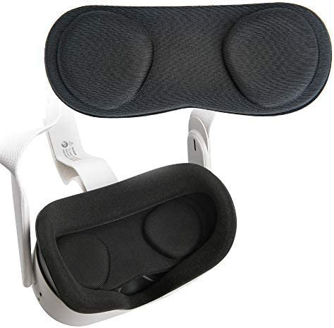 1 Pack Orzero VR Lens Protect Cover Dust Proof Cover for Oculus Quest 2 Oculus Quest Washable product image