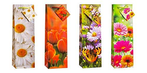 TSI 83290 cadeauzakje lente, verpakking van 12 stuks, afmetingen: fles (33 x 10 x 9 cm)