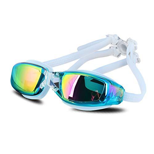 WUJIANCHAO Impermeable UV Anti Niebla Gafas de natación Gafas de natación Piscina de natación Profesional Agua de Buceo Eyewea
