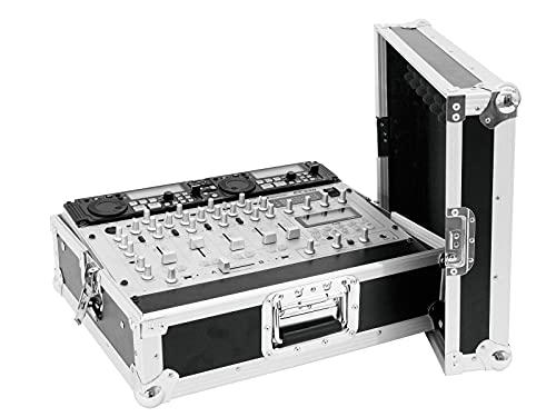 ROADINGER Mixer-Case Profi MCV-19, variabel, sw 8HE | Flightcase für 483-mm-Geräte (19