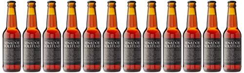 Senador Volstead Cerveza estilo Whisky Red Ale - 12 botellas x 330 ml - Total: 3960 ml