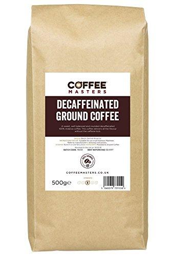 Coffee Masters Entkoffeinierter gemahlener Kaffee (100% Arabica) 500g