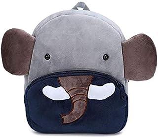 Children School Kindergarten Animals Backpack School Bags - Plush 3D Animal Cartoon Mini Preschool Bag for 2-7 Years Age K...
