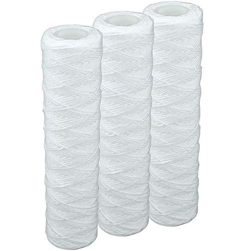 3 Stk. Faser- Filtereinsatz für 10