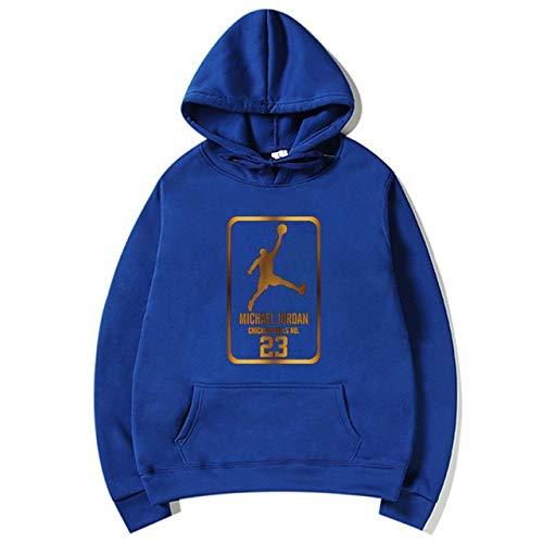 YDMZMS Brand Fashion 23 Mannen Sportswear Print Heren Hoodies Pullover Heren Trainingspak Sweatshirts Kleding S Blue 80