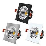 Downlight Techo de Downlight LED Dimmable 7W 9W 12W 15W LED Bombilla de la...