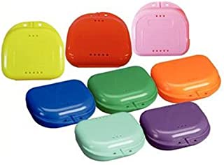 Retainer Case With Vent Holes and Hinged Lid Snaps (6)