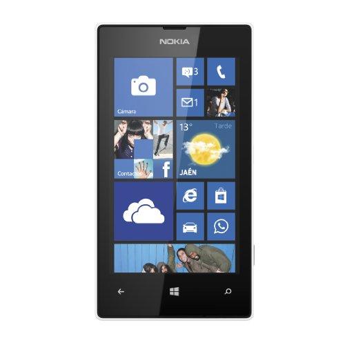 Nokia Lumia 520 - Smartphone libre Windows Phone (pantalla 4', cámara 5 Mp, 8 GB, Dual-Core 1 GHz, 512 MB RAM), blanco