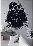 Star Wars Large Decal, Star Wars Decals, Star Wars Stickers, Darth Vader Large Decal, Darth Vader Sticker, Darth Vader Wall Decal trr331 (13' x 16')