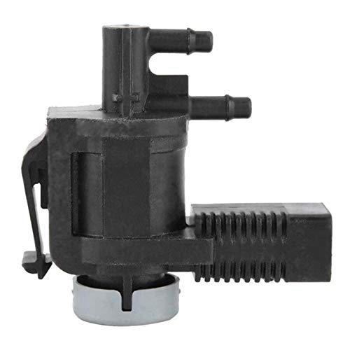 WeiYang Válvula solenoide de vacío EGR válvula de Control de vacío en Forma de solenoide para Jetta Golf Beetle Touareg 1K0906283 (Color : Black)
