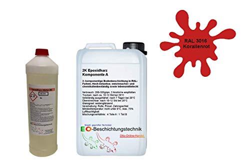 otto-online-handel Otto11 Ral3016 - Resina epoxi, color coral