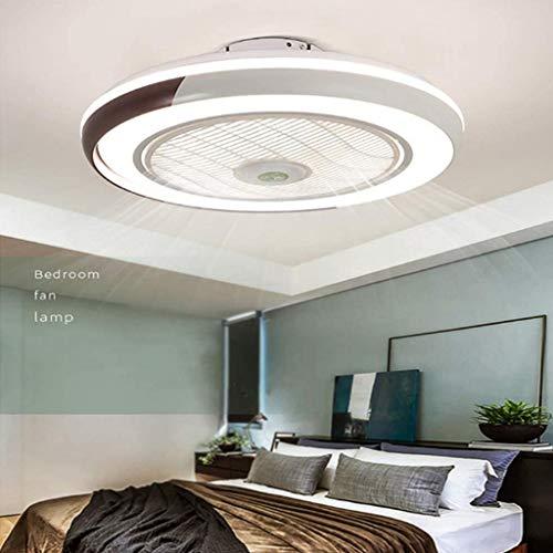 Ventilador De Techo 60W LED Lámpara Creative Regulable Ventilador De Techo...