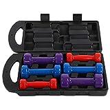 Cocoarm Kurzhantel Set Bunter Hanteln mit Rutschfester Griff Gym Home Krafttraining, 2 x 0.5 kg, 2 x...