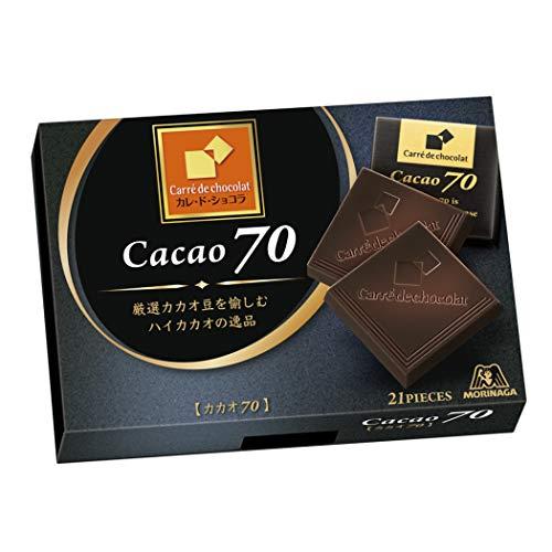 カレ・ド・ショコラ カカオ70 6個