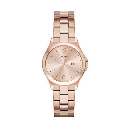 DKNY Damen Analog Quarz Uhr mit Edelstahl Armband NY2367