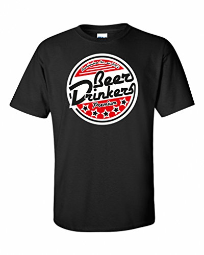 Beerdrinkers Inc. Deluxe Bier T-Shirt, Schwarz, L