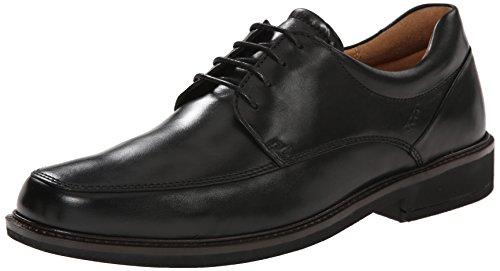 ECCO Men's Holton Apron Toe Tie, Black, 8-8.5