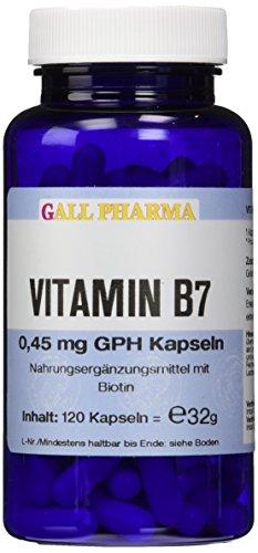 Gall Pharma Vitamin B7 0.45 mg GPH Kapseln, 120 Kapseln