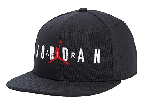 Jordan Nike Boy`s Jumpman Air Cap (8/20, Black)