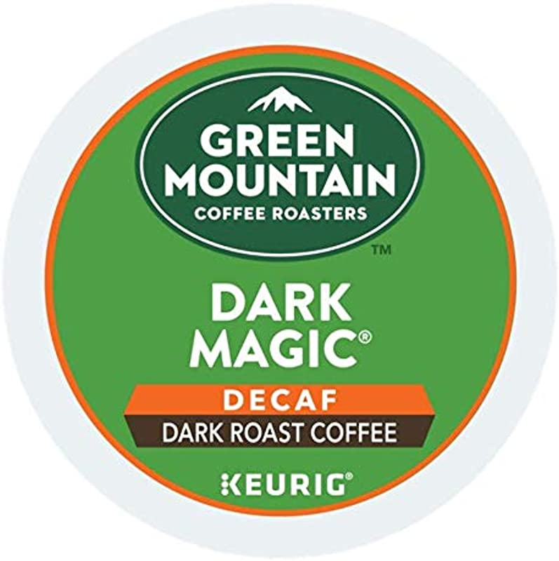 Green Mountain Coffee Roasters DAR Magic Decaf Single Serve K Cup Pods 120 Count