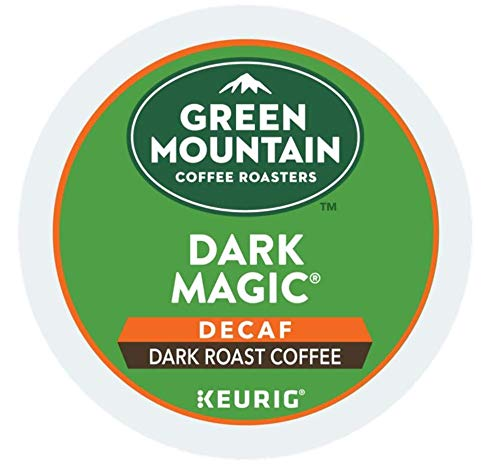 Green Mountain Dark Magic DECAF Extra Bold for Keurig Brewers 24 K-Cups (4 Pack)