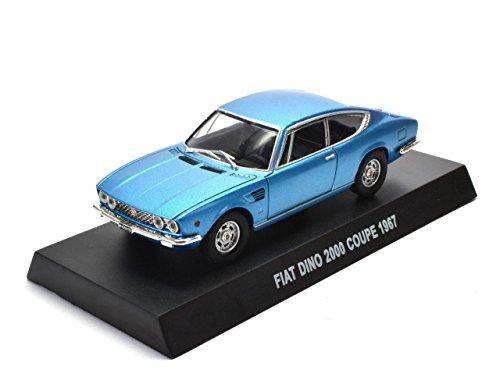 Générique Fiat Dino 2000 Coupe 1967 1/43 (Ref: IT003)