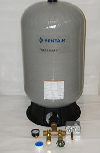 WELLMATE PENTAIR WM6 WM-6 20 gallon quick connect + Brass tank tee install kit Free standing Water Well PRESSURE TANK