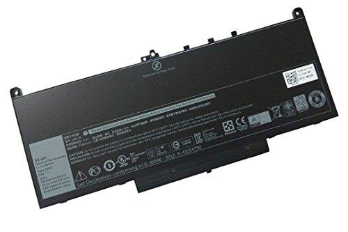 FLIW J60J5 Replacement Battery Compatible with Dell Latitude E7270 Latitude E7470 MC34Y 242WD [7.6V 55Wh]