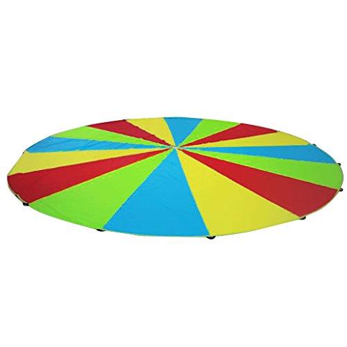 Jeu Parachute Arc-en-Ciel Activités Sport Extérieurs de l'enfant - 2M