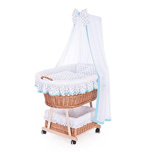 Cochecito de mimbre, Cochecito con un bebé baldaquino, Roll Niño cesta con–Accesorios