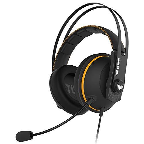 ASUS TUF Gaming H7 Core Headset (kabelgebunden, geeignet für PC, PS4, Xbox) schwarz / gelb