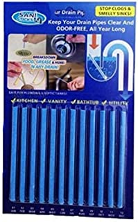 Kitchen Sink Drain Cleaner Sticks Drain Pipe Bathtub Sink Cleaners