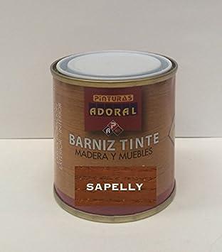 Adoral - Barniz Tinte Sintético Brillante 750 ml madera y muebles (Nogal)