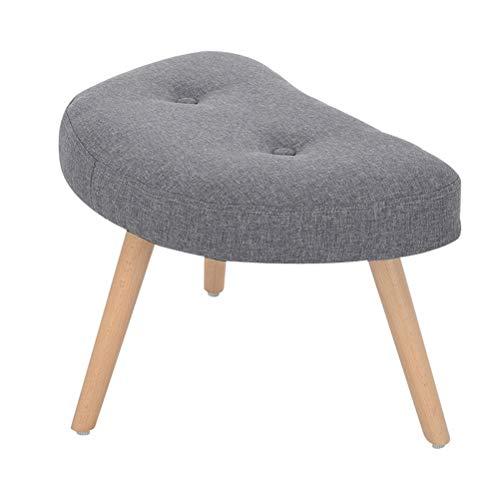 Yingying Scandinavische stijl massief houten dressing kruk, ottoman wijzigen schoen bank sofa combinatie stretch kruk geschikt voor woonkamer slaapkamer (grootte: 37 * 60 * 35 cm)