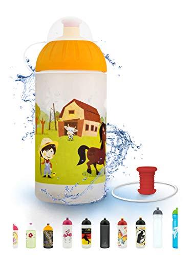FreeWater Trinkflasche, 500 ml, Farm: schadstofffrei, spülmaschinengeeignet, auslaufsicher, langlebig