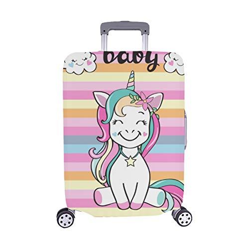 (Solo Cubrir) Lindo Unicornio Inscripción Bebé Patrón