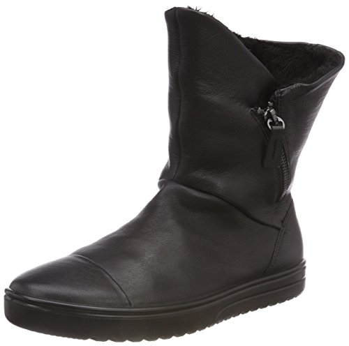 ECCO Damen FARA Hohe Stiefel, Schwarz (Black 1001), 41 EU
