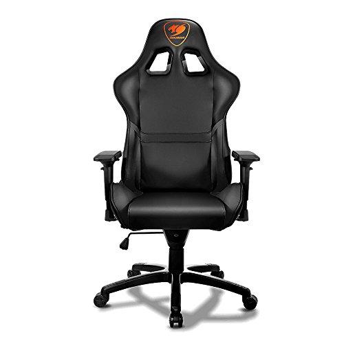 "Cougar armor black chair case accessory sra226k sliding rail 26"""" for 2u/3u/4u chassis, 1"