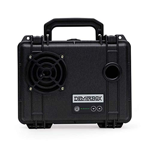 DemerBox: Waterproof, Portable, and Rugged Outdoor Bluetooth Speakers. Loud Sound, 40+ hr Battery Life, Dry Box + USB Charging, Multi-Pairing Party Mode. Built to Last + Fully Serviceable (Black DB1)